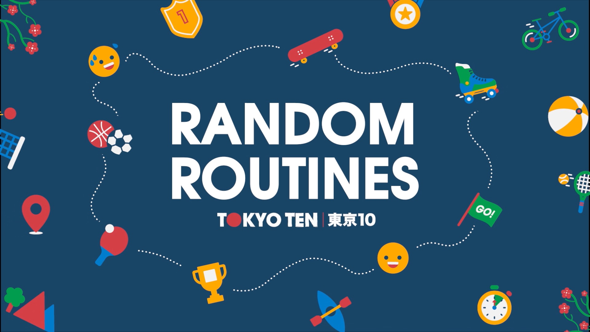 Random Routines animation