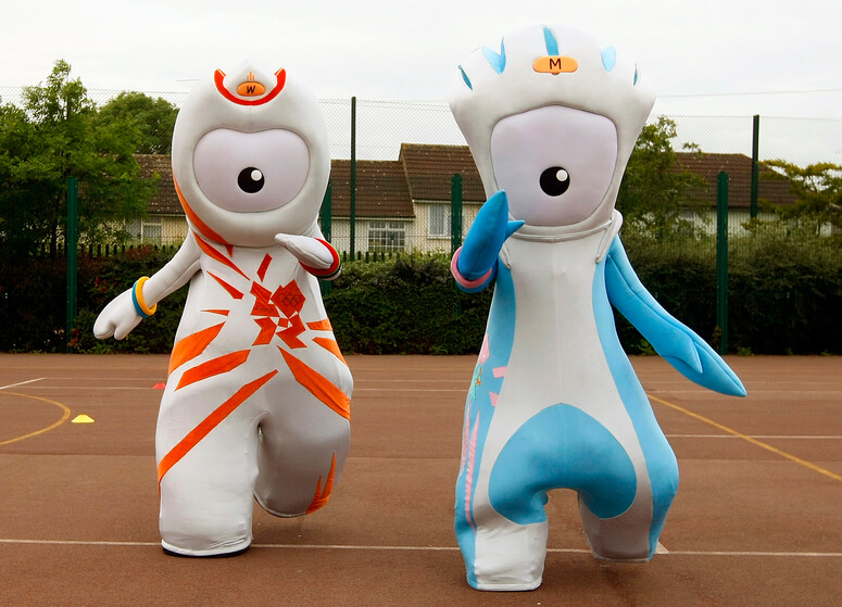 Can you design a mascot for ParalympicsGB?