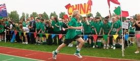An Olympic Day fun run