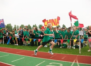 An Olympic Day fun run