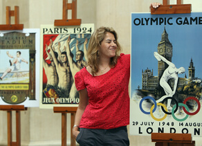 Olympic and Paralympic inspired art