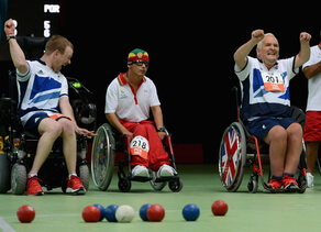 What is boccia?