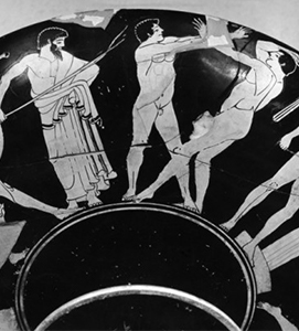 Ancient Games Greek Vase