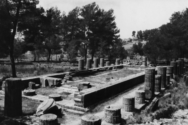 Ancient Olympic temple