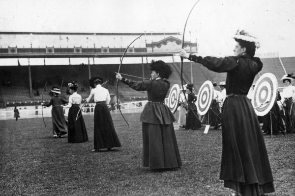 London 1908 Olympic archers