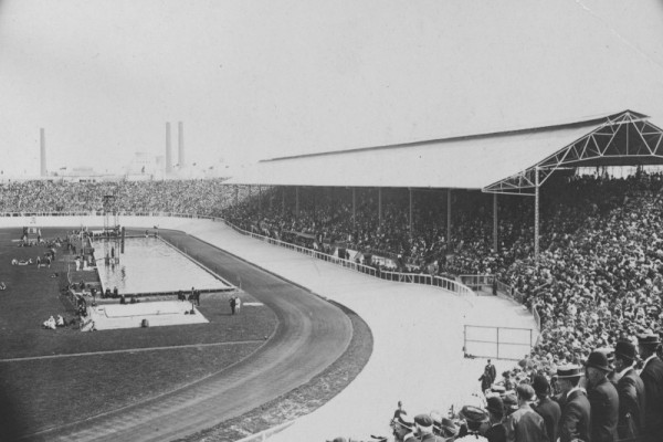 London 1908 Olympic stadium