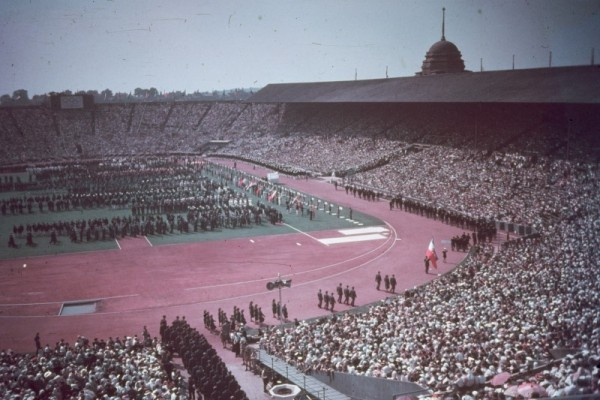 London 1948 Olympic ceremony