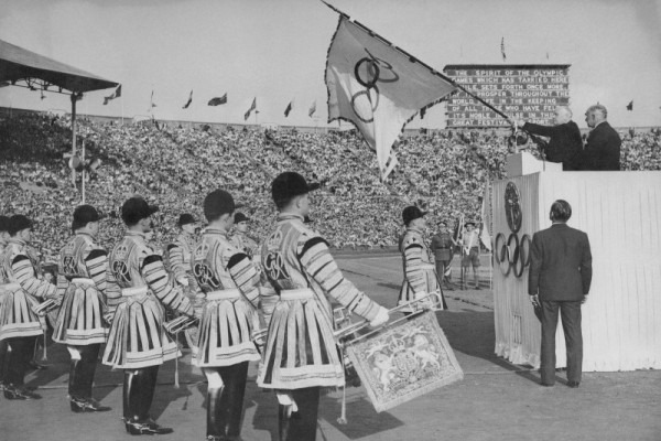 London 1948 Olympic closing ceremony