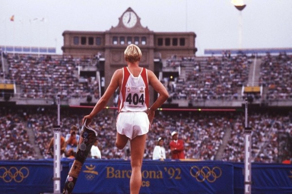 High jump at the Barcelona 1992 Paralympic Games