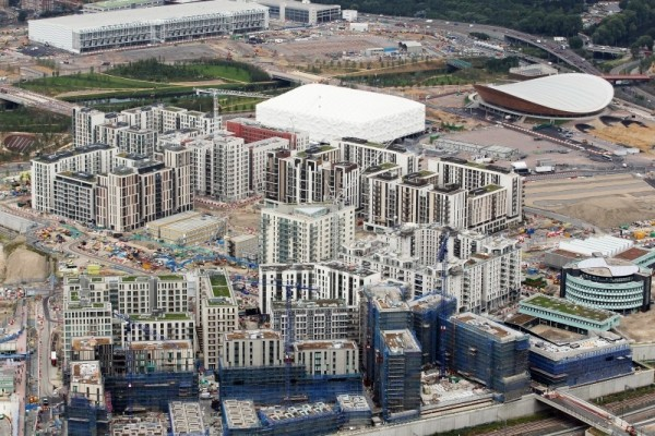 Construction of the Athletes' Village