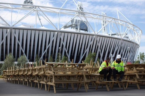 Work begins on the Olympic Park transformation
