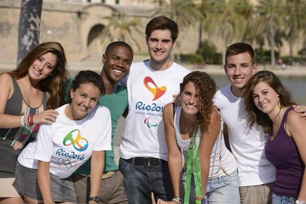 Rio 2016 volunteers