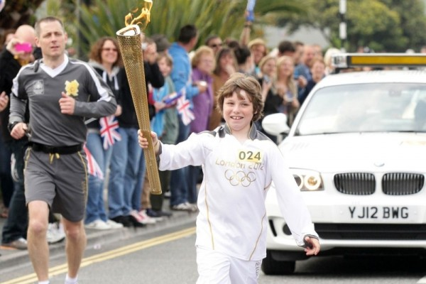 Young Ttorchbearer Henry Hocking