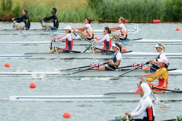 Double Sculls Rowing