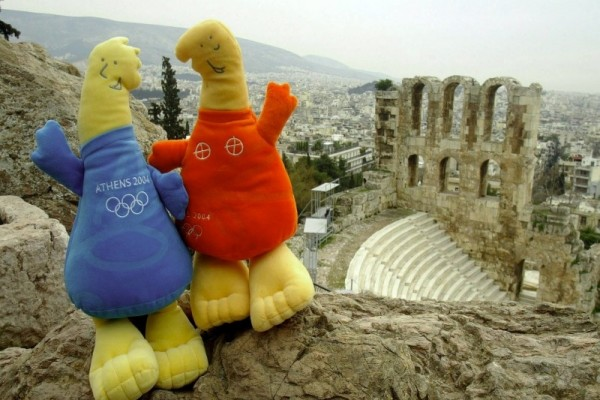 Athens 2004 Olympic Games - Pathos and Athena