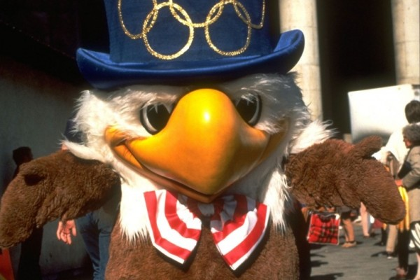 Los Angeles 1984 Olympic Games mascot - Sam the Eagle