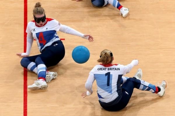 Georgina Bullen Goalball