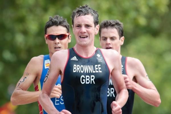 Alistair Brownlee and Jonathan Brownlee