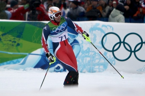 Winter Games Olympic Skier