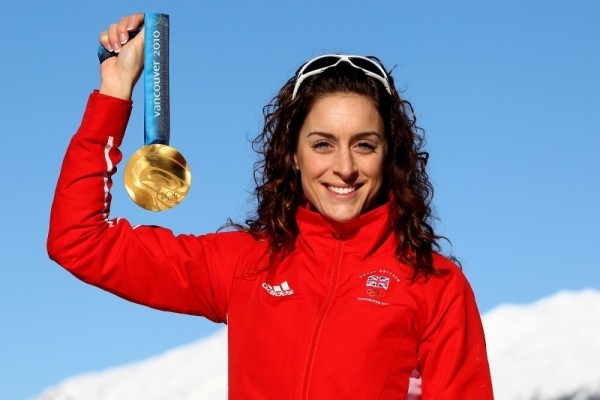 Amy Williams - Skeleton