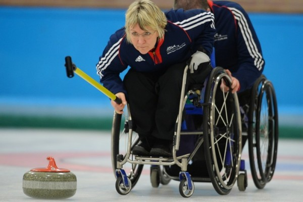 Angie Malon - Wheelchair Curling