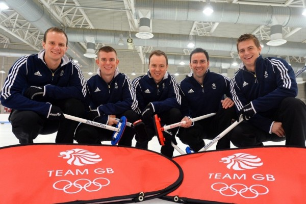Team GB Mens Curling