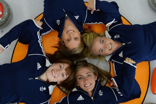 Team GB Womens Curling