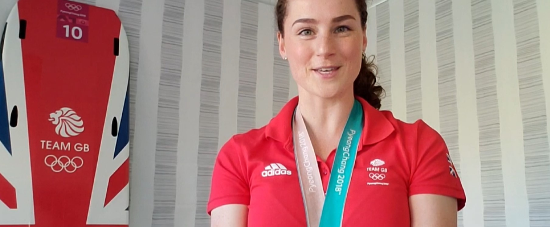 Olympic medallist gives Values of Sport lesson!