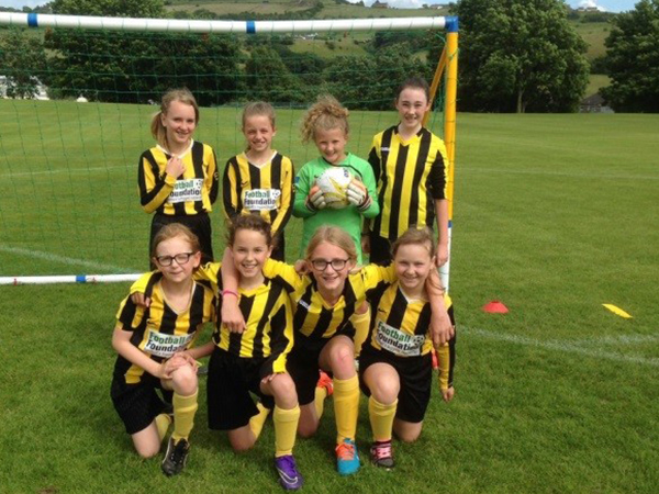 Girls football tournament