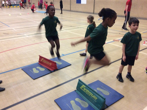 KS1 Sports Hall Athletics Stars