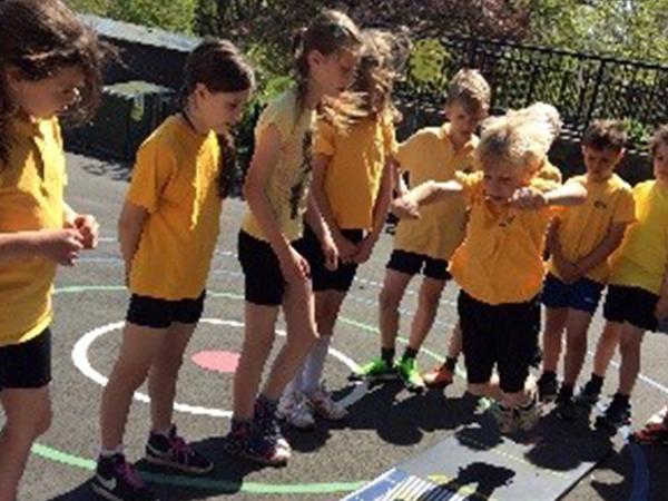 Intra-school Athletics KS1