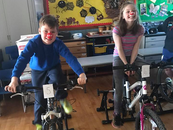 Charity cycle challenge