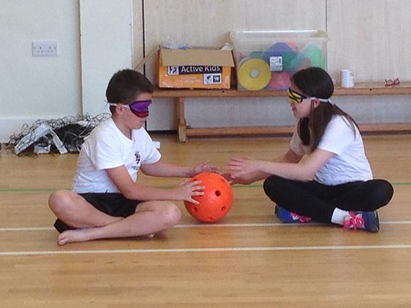 Goal ball challenge