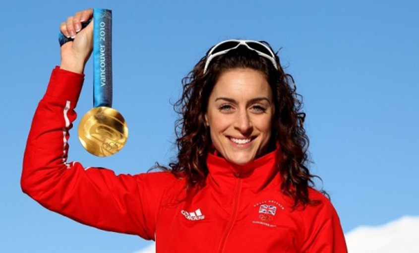 Amy Williams Skeleton