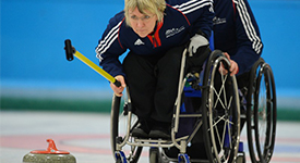 Angie Malone Wheelchair Curling