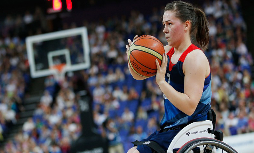 Helen Freeman Wheelchair Basketball