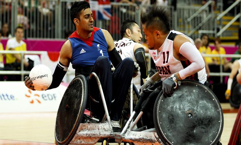 Mandip Sehmi Wheelchair Rugby
