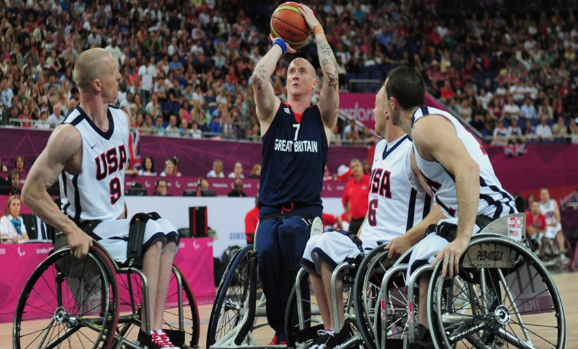 Terry Bywater Wheelchair Basketball