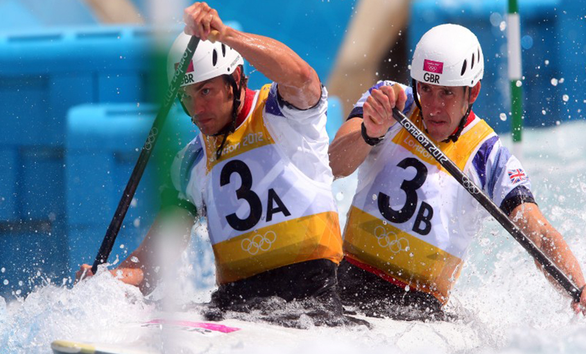 Tim Baillie, Etienne Stott Canoeing