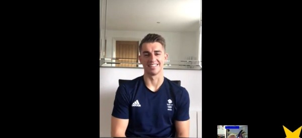 Get Set Hangout – RIO 2016 WITH MAX WHITLOCK