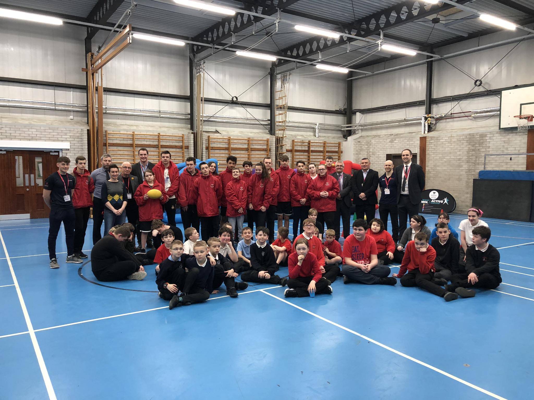 Sport Wales visit