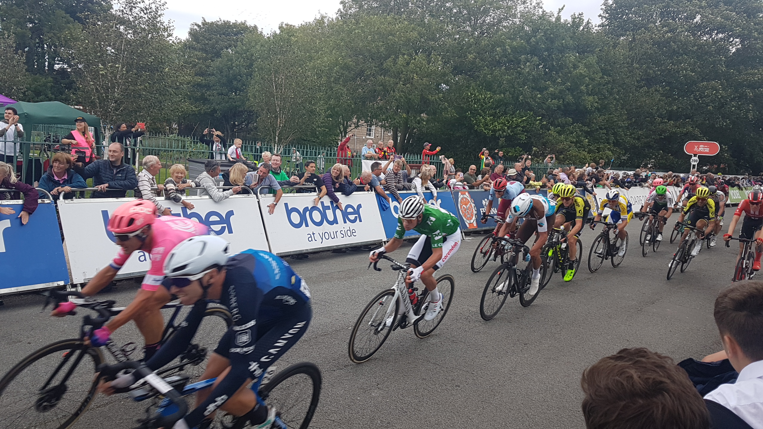 Tour of Britain Wirral Stage