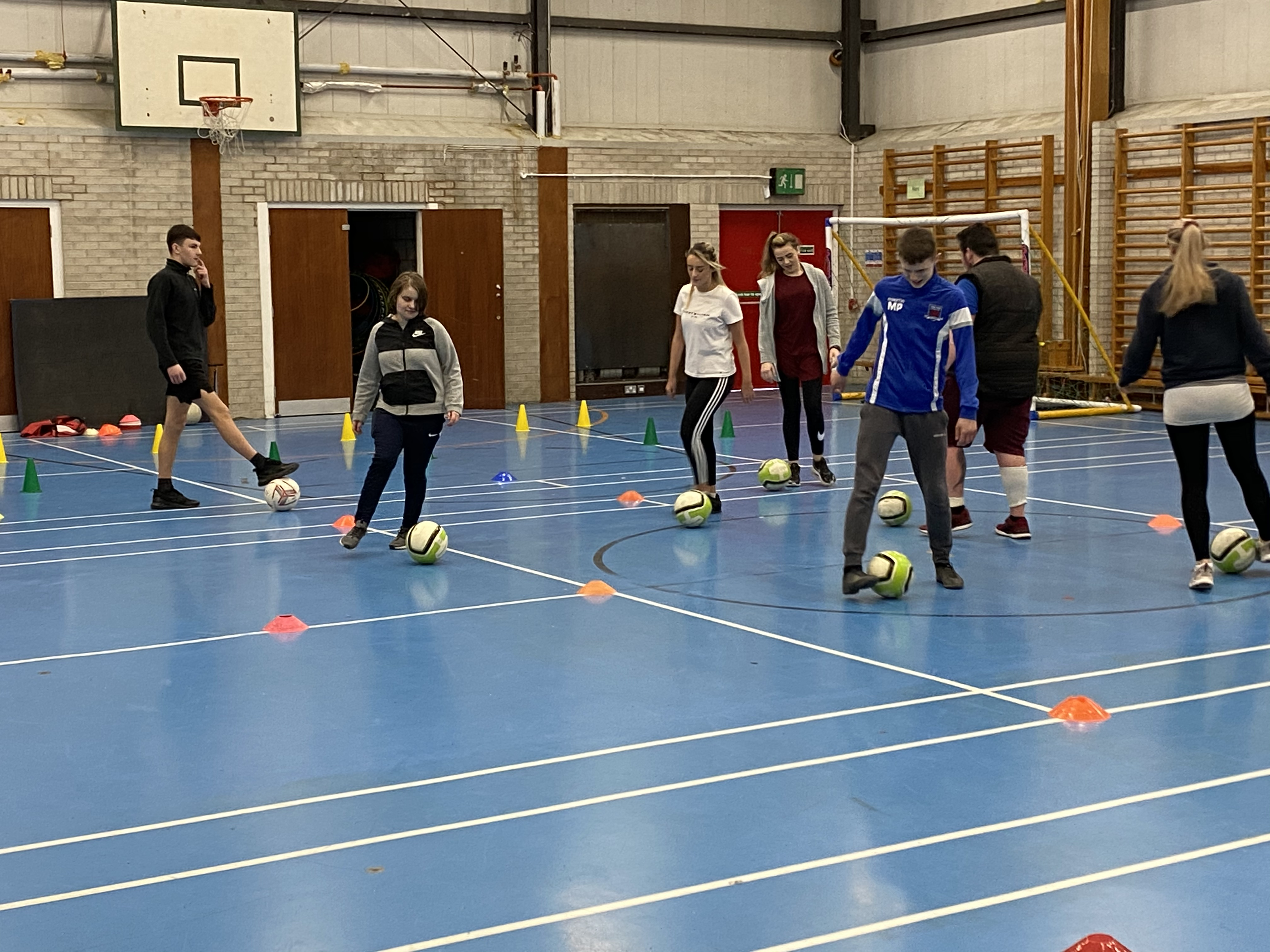 Sports Leaders 1st4sport coaching