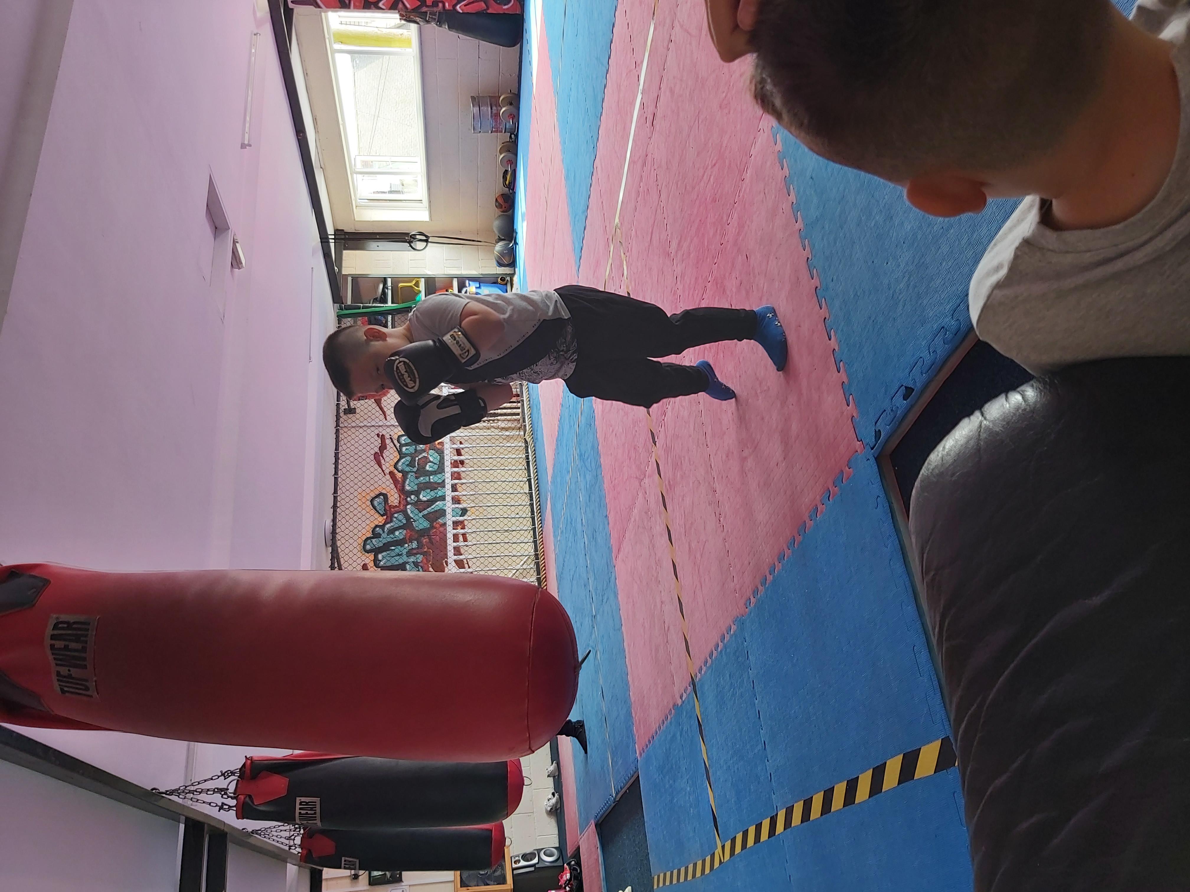 Connor's Boxing Pride