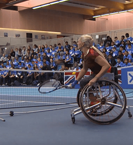 Wheelchair Tennis Masters meets the Davis Cup