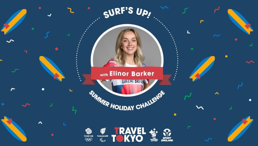 Elinor Barker's surfing challenge