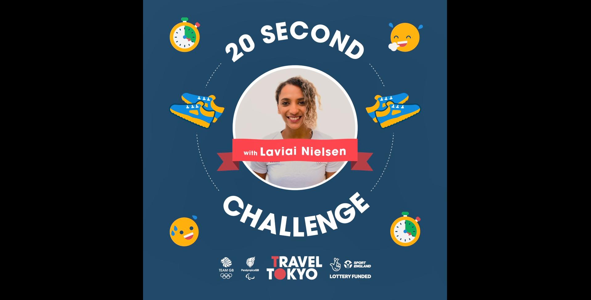 Laviai Nielsen's challenge