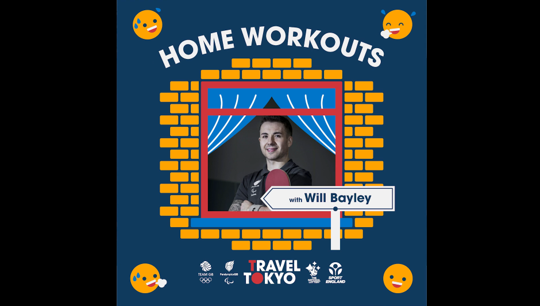 Will Bayley's Home Workout