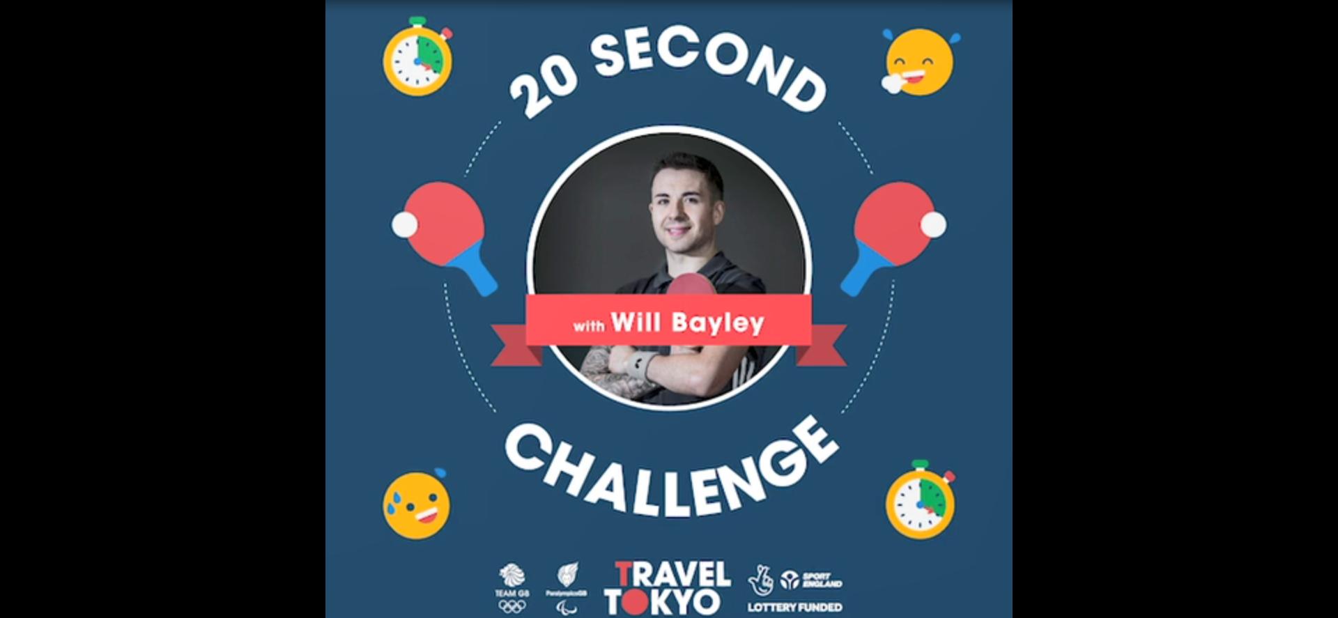 Will Bayley's challenge