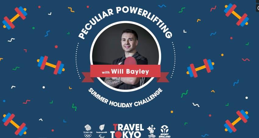 Will Bayley's Perculiar Powerlifting